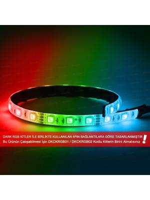 Dark 35cm Ultra Bright RGB LED Şerit (21x LED) (RGB Kit Uyumlu - 4pin Bağlantılı)