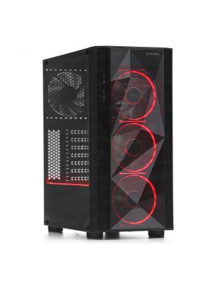 Dark Diamond PRO RGB V2 4x12cm Fan, 1x USB3.0, 2x USB2.0 Full Akrilik Oyuncu Kasası ( Yeni )