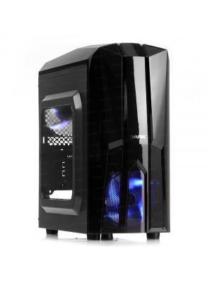 DARK F50 2x Mavi LED Fan USB3.0 Pencereli 500W M-ATX Kasa