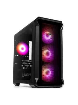 Dark GUARDIAN Mini PRO 500W 80+ Bronze 4x12cm ARGB Fan USB3.0 Tempered Glass MATX Oyuncu Kasası ( Yeni )
