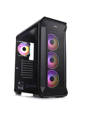 Dark Guardian PRO 750W 80+ GOLD 4x12cm Adreslenebilir RGB LED Fanlı, Full Cam Yan ve Mesh Ön Panel, USB 3.0 Bilgisayar Kasası