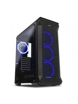 Dark GUARDIAN 4x12cm Dual RGB Fan USB3.0 T-Glass ATX Oyuncu Kasası ( Yeni )