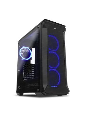 Dark GUARDIAN 750W 80+ BRONZE 4x12cm Dual RGB Fan USB3.0 T-Glass ATX Oyuncu Kasası ( Yeni )