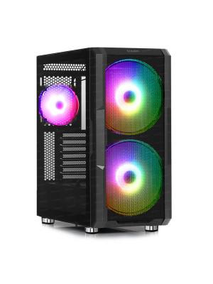 Dark MAXIMA V20, 2x20cm, 1x12cm ARGB Fan, 2xUSB3.0, 1xType-C, RF Kontrollü Oyuncu Kasası