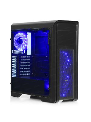 DARK N10 PRO 500W 80+ Bronze USB 3.0, 3x12cm Fan, Fan Kontrolcülü, Temperli Yan Cam Panel ATX  Kasa
