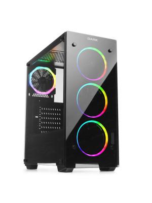 Dark VISION PRO 4x12cm Dual ARGB Fan USB3.0 T-Glass ATX Oyuncu Kasa ( Yeni )