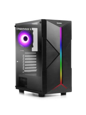 Dark X-FORCE 600W 80+, 3x Fan, ARGB LED Şeritli USB3.0 Full Akrilik Kasa