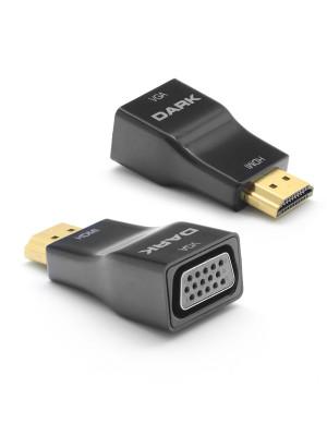 Dark HDMI - VGA Dijital - Analog Dönüştürücüsü