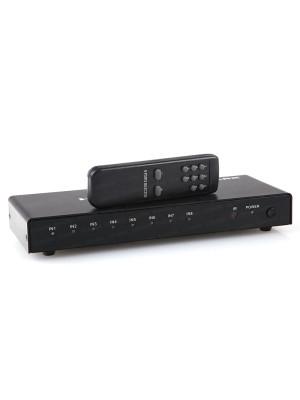 Dark Full HD 8 Giriş 1 Çıkışlı Uzaktan Kumandalı HDMI Switch (Seçici)