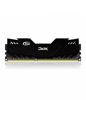 Team 8GB(2x4GB) DDR3 Overclocking Dark Series 2400MHz Gaming Soğutuculu Dual-Channel Ram Bellek (TM3D240042BLK)