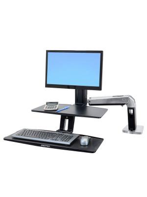 Ergotron WorkFit-A Askılı Ayarlanabilir Monitör ve Keyboard Masa Stant