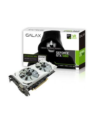 GALAX GeForce GTX 1060 EXOC White 6GB 192-bit GDDR5 - HDMI 2.0B, DP1.4, Dual Link-DVI-D EKRAN KARTI