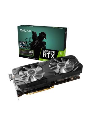 Galax RTX2070 EX 8GB (1-Click OC) 256Bit GDDR6 Ekran Kartı (GLX-27NSL6MPX2VE-GALG)