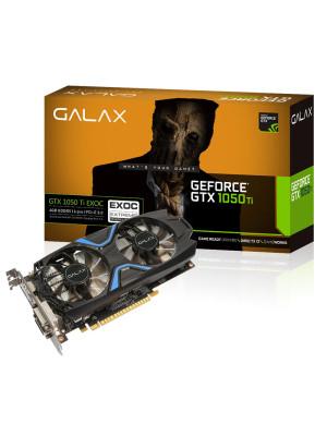 GALAX GeForce GTX 1050 Ti EXOC 4GB 128-bit GDDR5 - HDMI 2.0B, DP1.4, Dual Link-DVI-D EKRAN KARTI