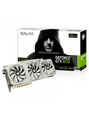 GALAX GeForce GTX 1070 HOF 8GB 256-Bit GDDR5 - HDMI 2.0B, DP1.4, Dual Link-DVI-D EKRAN KARTI