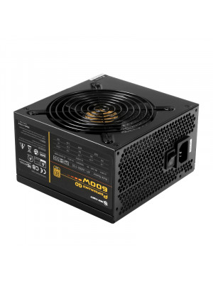 High Power Performance GD 600W 80+ Gold 50A Single Rail Aktif PFC Siyah ATX Güç Kaynağı