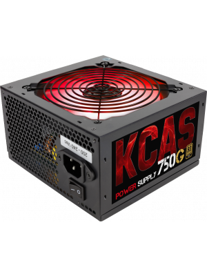 Aerocool KCAS 750W 12cm RGB Led Fan 80+ Gold Power Supply