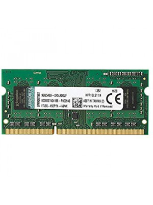 Kingston 4GB DDR3 1600MHz 1.35V SODIMM Notebook Ram Bellek (KVR16LS11/4)