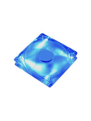 SilverStone FN121P 12cm Mavi Ledli Kasa Fanı