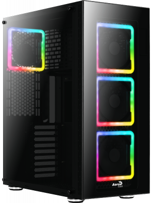 Aerocool TOR Pro USB 3.0 4 x Adreslenebilir RGB Fanlı Full Tower ATX Kasa