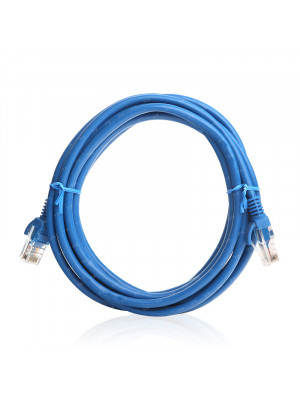 TX 2M Cat5E CCA Solid UTP Mavi Network Kablosu