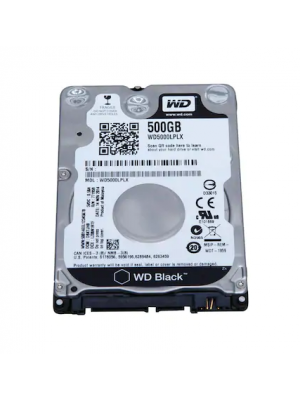 "WD 500GB Black 2.5"" SATA III 6 Gb/s 7200 RPM 32 MB Cache 7mm (WD5000LPLX)"