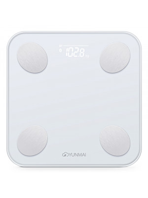 Yunmai Balance M1690 Vücut Analizli Bluetooth Akıllı Tartı - Beyaz